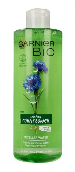 Garnier BIO Woda micelarna do twarzy - Soothing Cornflower 400ml