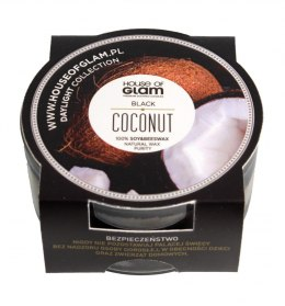 House Of Glam Świeca zapachowa mini Black Coconut 45g