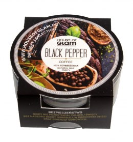 House Of Glam Świeca zapachowa mini Black Pepper & Coffee 45g