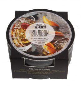 House Of Glam Świeca zapachowa mini Bourbon Old Fashioned 45g