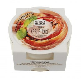 House Of Glam Świeca zapachowa mini French Apple Cake 45g