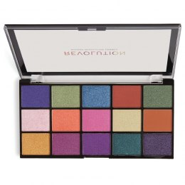 Makeup Revolution Paleta cieni do powiek Reloaded Passion for Colour