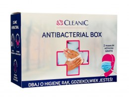 Cleanic Zestaw Antibacterial Box 1op.