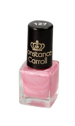 Constance Carroll Lakier do paznokci z winylem nr 127 Pearly Pink 5ml - mini