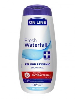 On Line Natural Antibacterial Factor Żel pod prysznic Fresh Waterfall 400ml