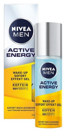 NIVEA MEN Żel do twarzy z mikrokapsułkami ACTIVE ENERGY 50ml