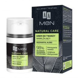 AA Men Natural Care Krem do twarzy nawilżający 50ml