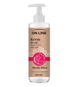 On Line From Plants With Love Krem do rąk Masło Shea i Żurawina 190ml