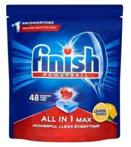 Finish All in 1 Max tabletki do zmywarki 48szt LEMON