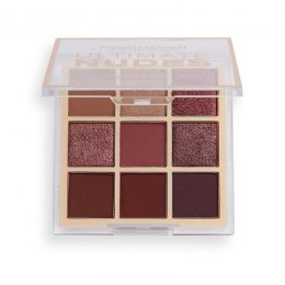 Makeup Revolution Ultimate Nudes Shadow Palette Zestaw cieni do powiek Dark 1szt